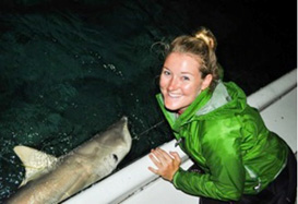 Student researcher for shark population ecology project, The School for Field Studies, Turks & Caicos Islands, BWI (Spring 2014)